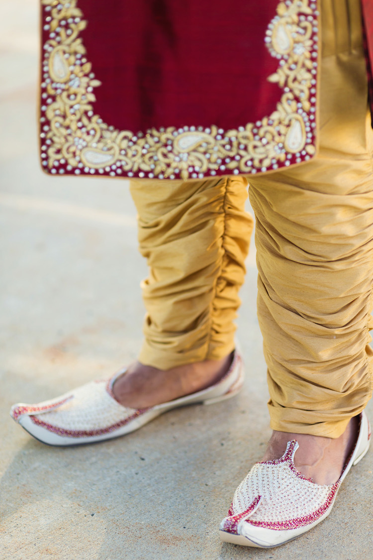 5a indian wedding shoes
