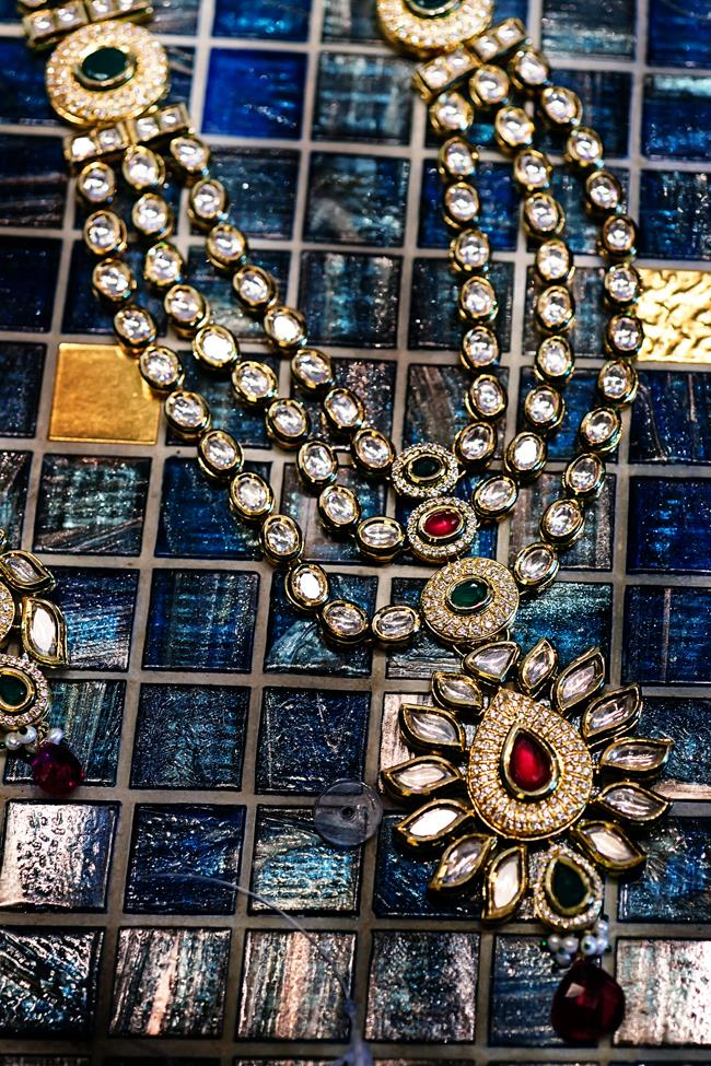 22a indian wedding necklace