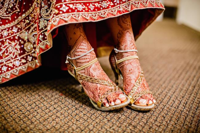 13a indian wedding shoes