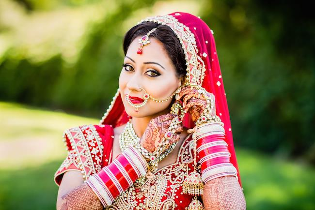 16a indian wedding red bridal anarhali