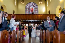 Texas Church Wedding by Ryan Green Photography