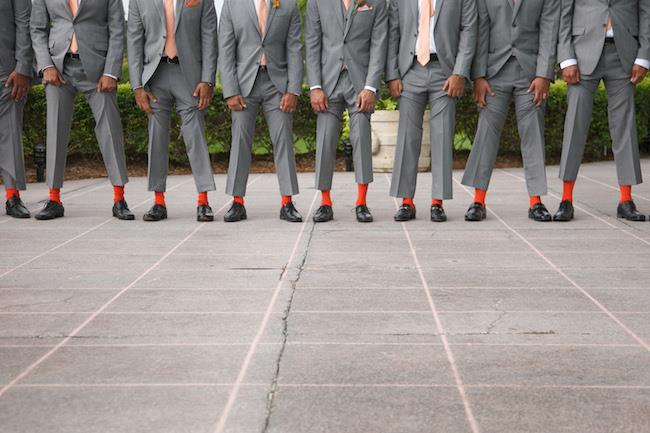 42a indian wedding groomsmen socks