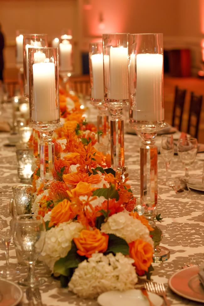 68a indian wedding centerpiece