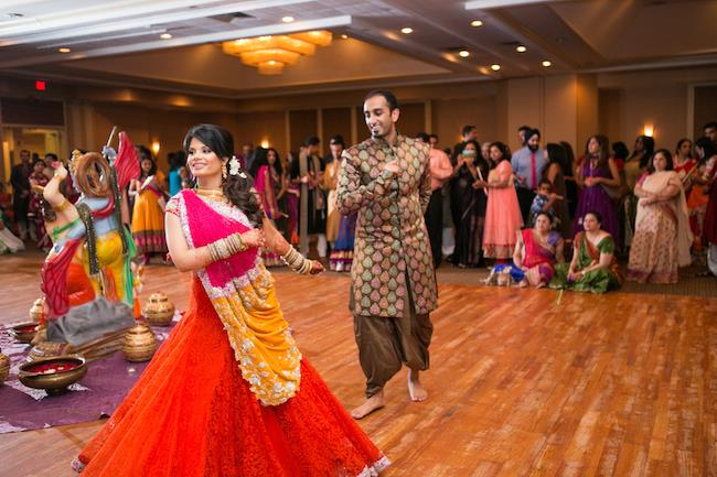 11a indian wedding garba