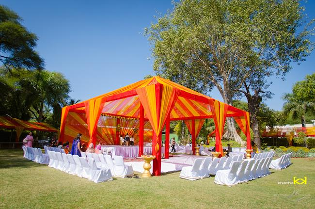 12a indian wedding outdoor decor