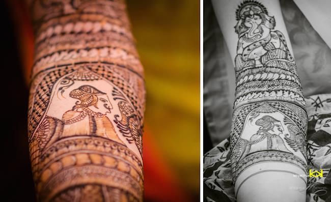 7a indian wedding mehndi design