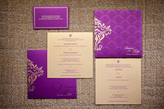 3a indian wedding invitations
