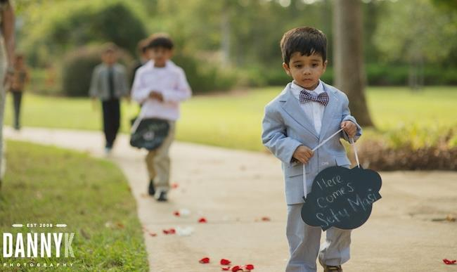 19a INDIAN WEDDING RING BEARERS