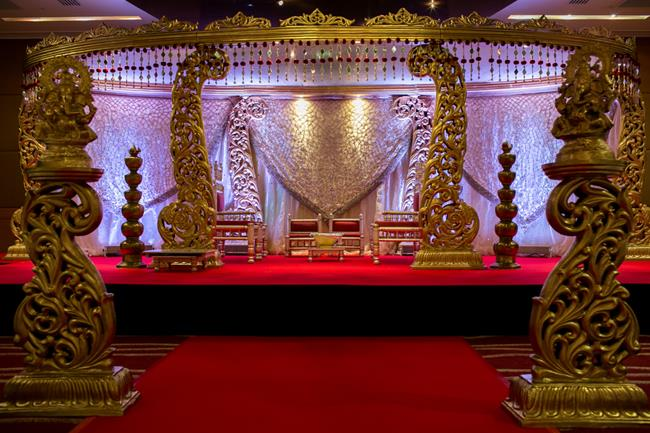 16a indian wedding mandap staging