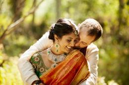 Fusion Outdoor Indian Wedding by Dev Khalsa Photography