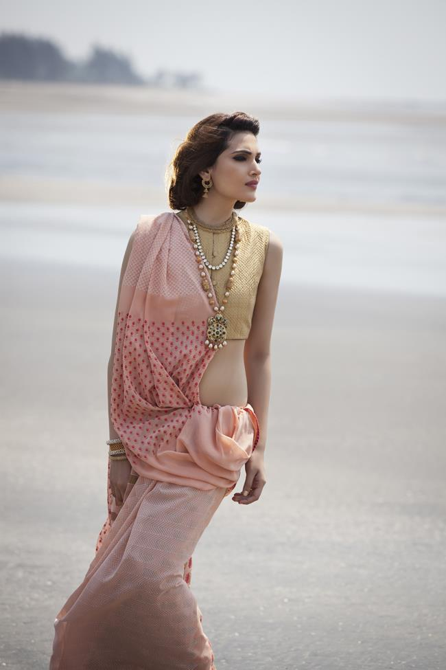 17a indian sari pink bridal shoot