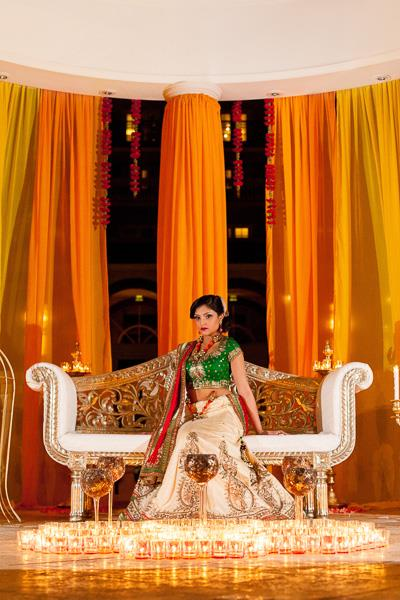 3a indian fashion outdoor bridal shoot