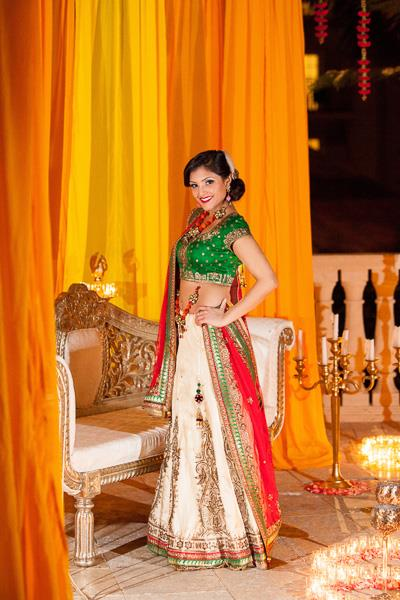 9a indian outdoor reen bridal lengha