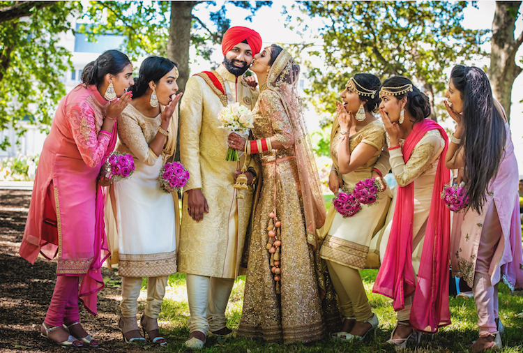 10a Indian Bridal Party