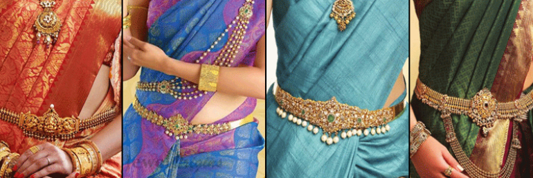 belted saree
