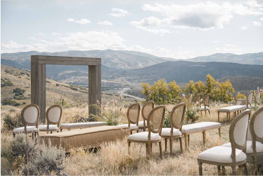 chudleigh_weddings- framed arbor