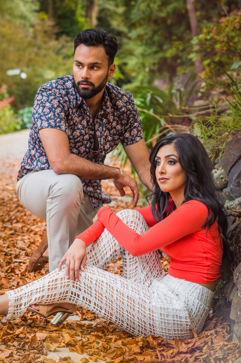 Photoshoot Engagement Poses For Indian Couples