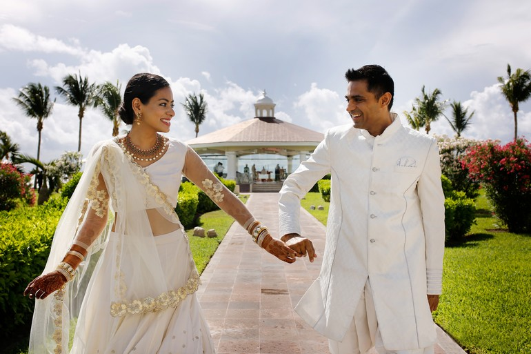 Indian Destination Wedding Couple