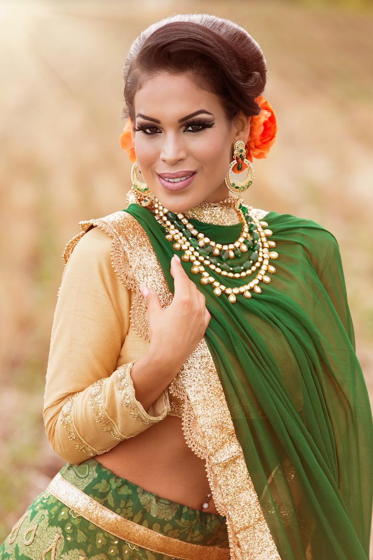 indian wedding bridal shoot