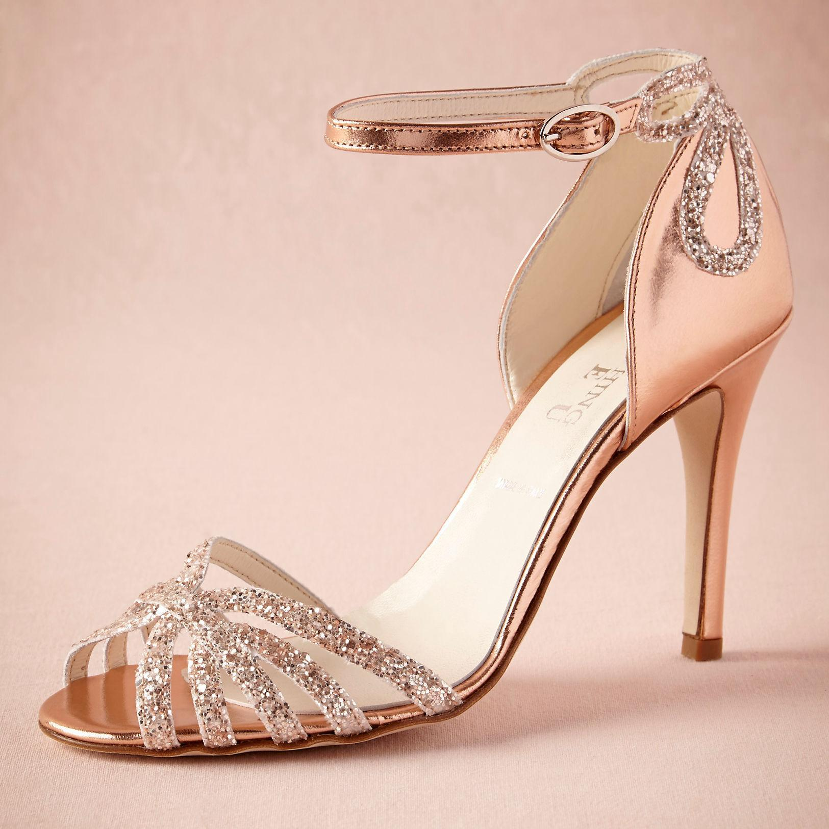 rose-gold-glittered-heel-real-wedding-shoes