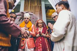 Stunning Indian Kashmiri Wedding With A Vintage Touch By Nikhil Kapur Photography