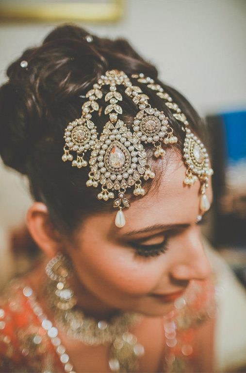 Image result for Punjabi Forehead Accessories