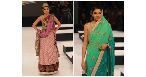 Indian Wedding Fashion- Blenders Pride Show