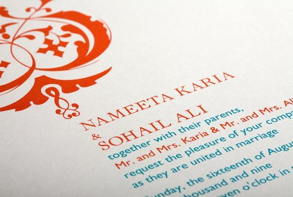Guide: Ordering Indian Wedding Invitations