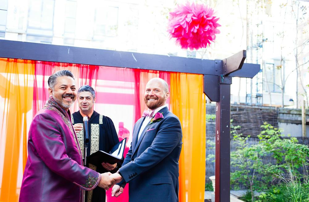 Fusion Same Sex Indian Wedding in Ontario by Julius and James