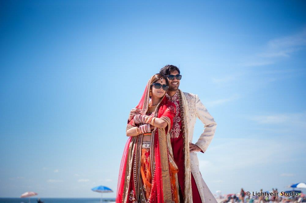 Cape May New Jersey Beach Indian Wedding by Lightyear Studio