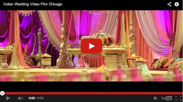 Beautiful Chicago Indian Wedding Video by Aria Fine Art Films