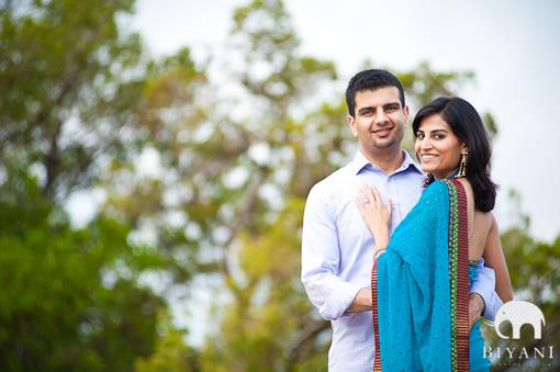 Austin Indian Engagement Session by Biyani Photography