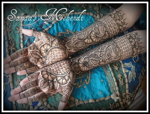 Bridal Henna Designs by Sanaa