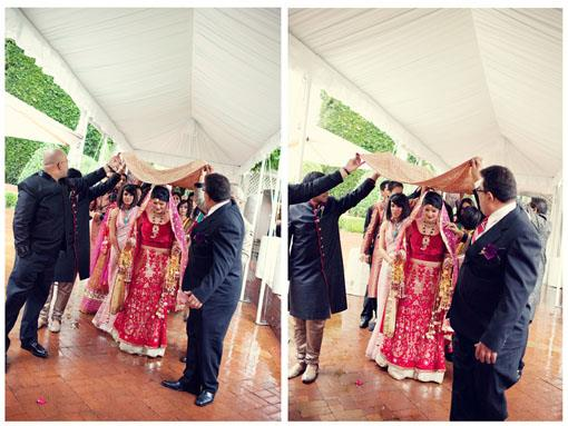 California Ritz Carlton Outdoor Hindu Wedding Ceremony