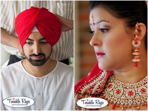 Canadian Indian Wedding: Ravinder and Harman (2)