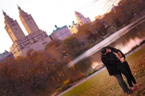 Central Park Indian E-Session by AH Portrait Photography