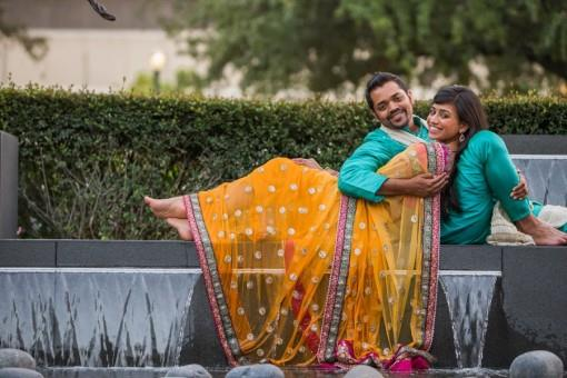 Downtown Houston Indian Engagement Session by JoeyT Photography - 1