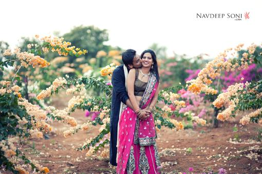 Engagement Photos in India by Navdeep Soni Photography