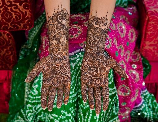 Garden Indian Mehndi Party in Dubai