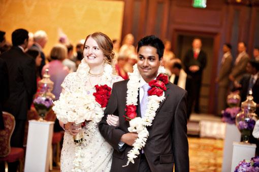 Hindu and Methodist Wedding by B&G Photography