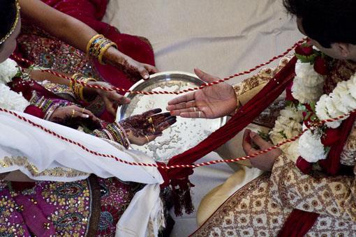 Indian Hindu Wedding at Home in Florida