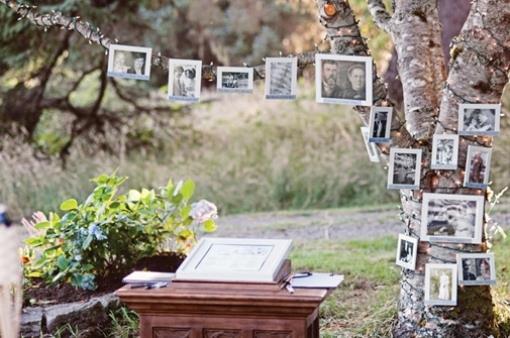 Indian Wedding Decor - Family Tree