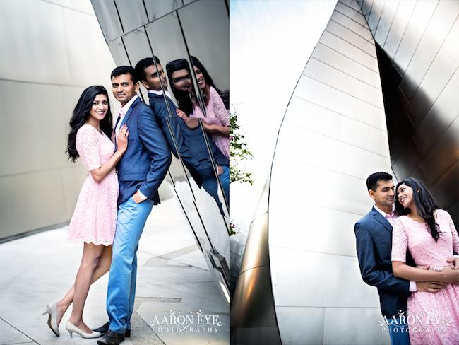 3 outdoor indian engagement session