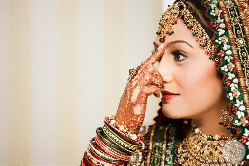 Indian Wedding Portraits by Wedding Documentary