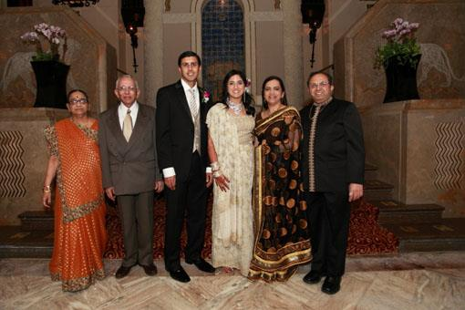 Indian Wedding Reception at Intercontinental Chicago Magnificent Mile