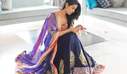 Navy, Gold and Coral - Indian Wedding Color Inspiration