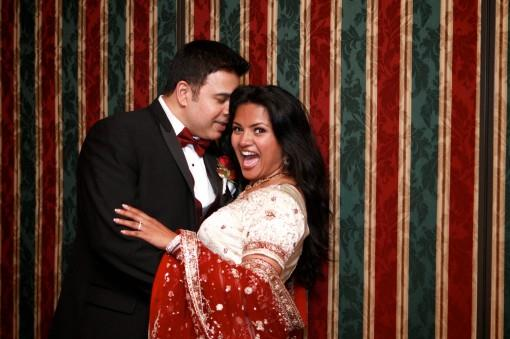 indian-wedding-portrait-shot-white-and-red-lengha-tuxedo-e1378352874454