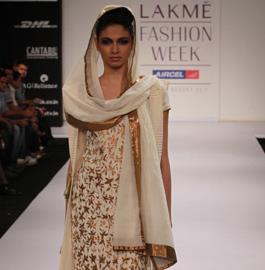 Lakme Fashion Week Summer 2011 – Debarun Mukherjee