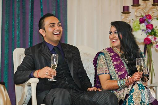 Moroccan Inspired Indian Wedding Reception