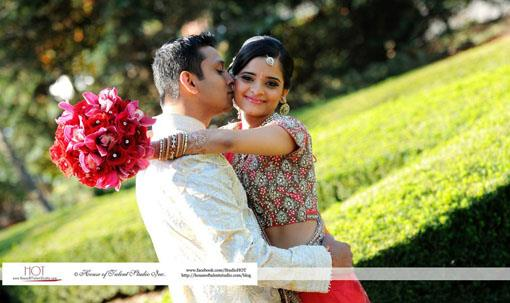 New Jersey Indian Bride by Ayesha of Singhar